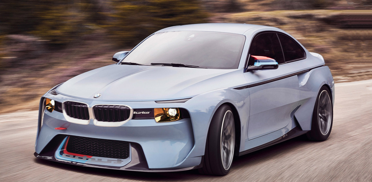 BMW 2002 Hommage, Vintage Touches And So Much Wickedness