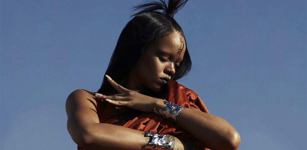 Sledgehammer, Rihanna makes the alien for Star Trek Beyond.