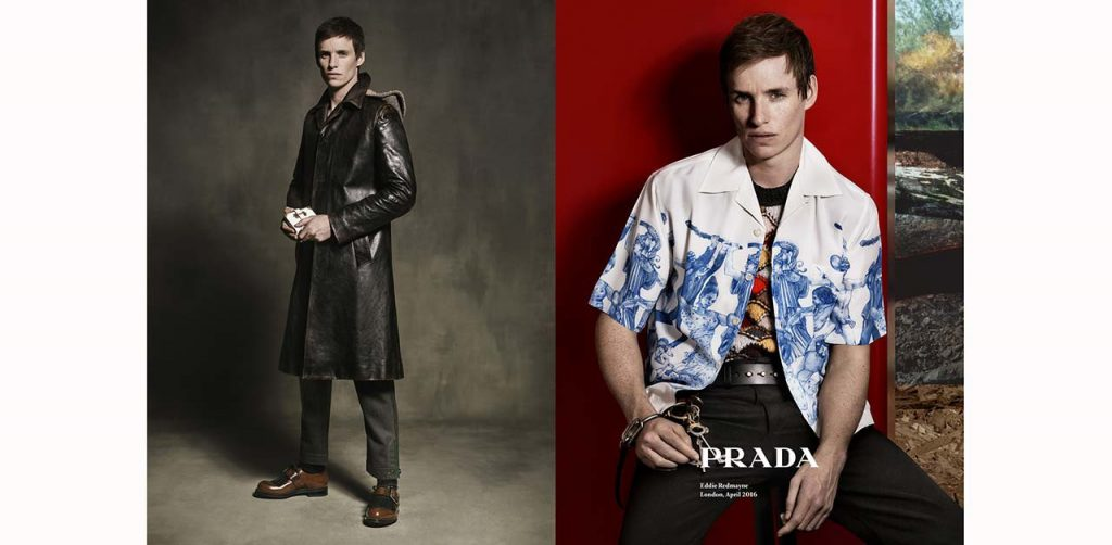 Eddie Redmayne and others: all the protagonists of advertising campaigns autumn-winter