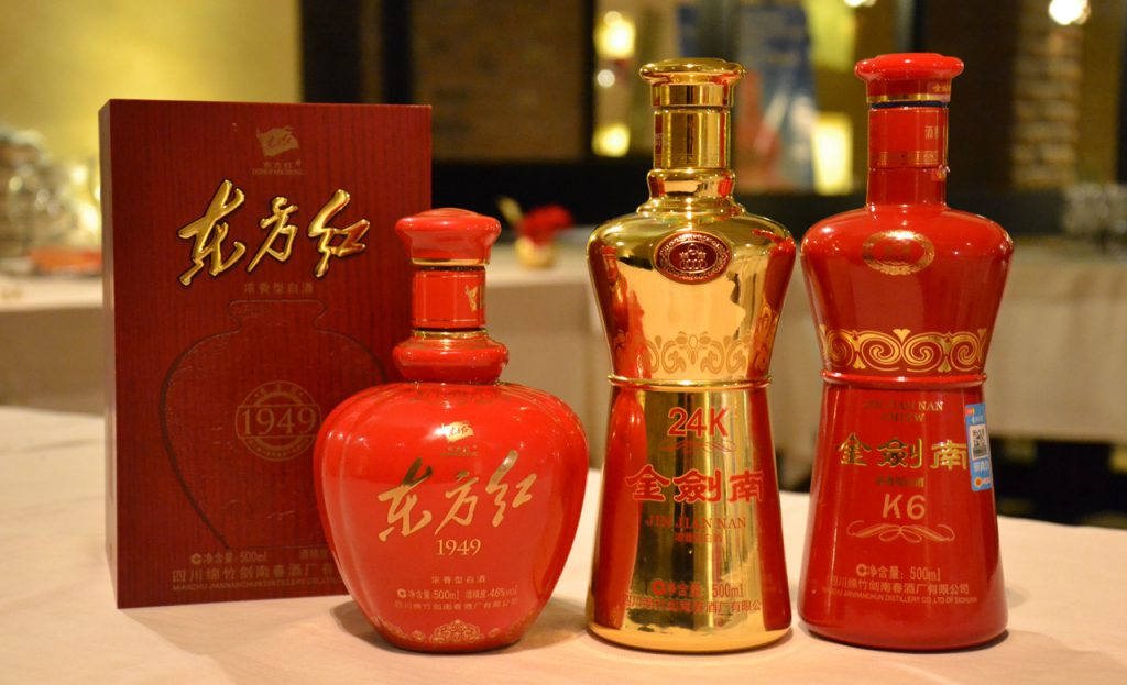 Baijiu, the Chinese deluxe distillate: in Italy the new 24K bottle