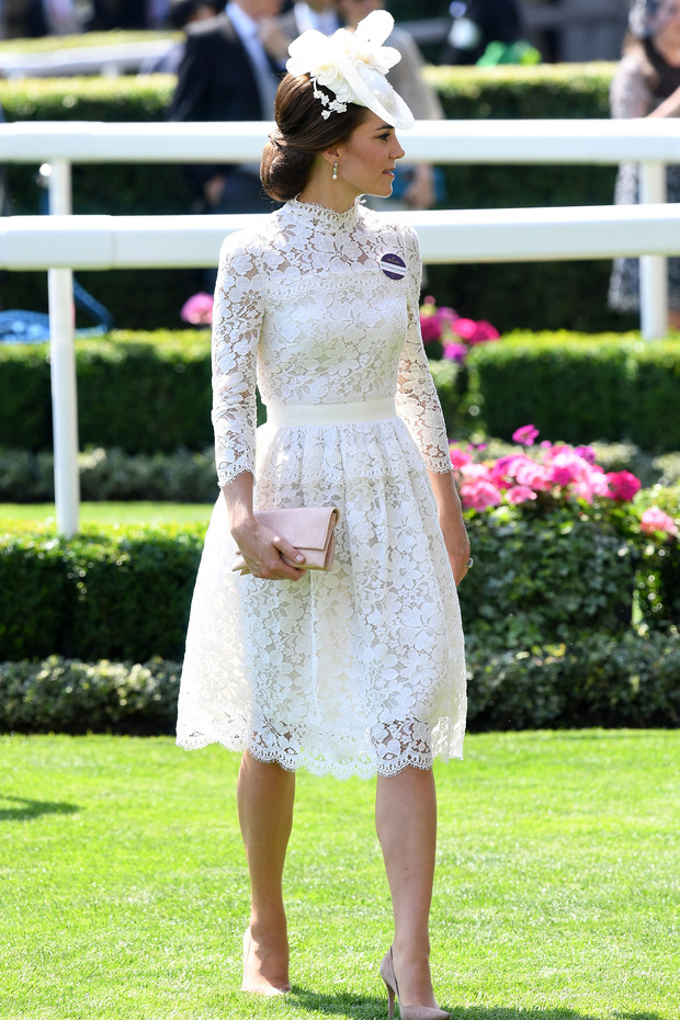 'My Fair Lady' for one day. Kate Middleton's look at Ascot