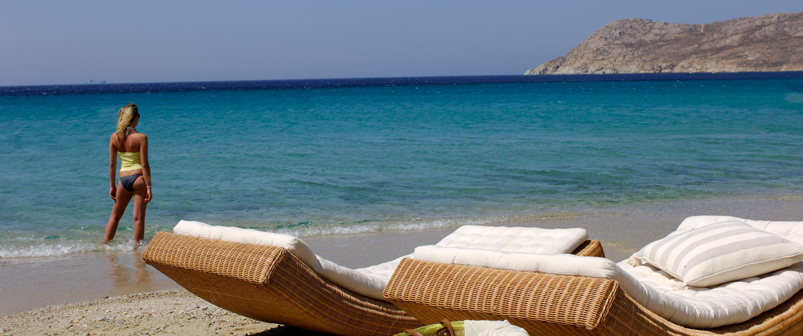 Mykonos, the 7 least crowded beaches on which to relax