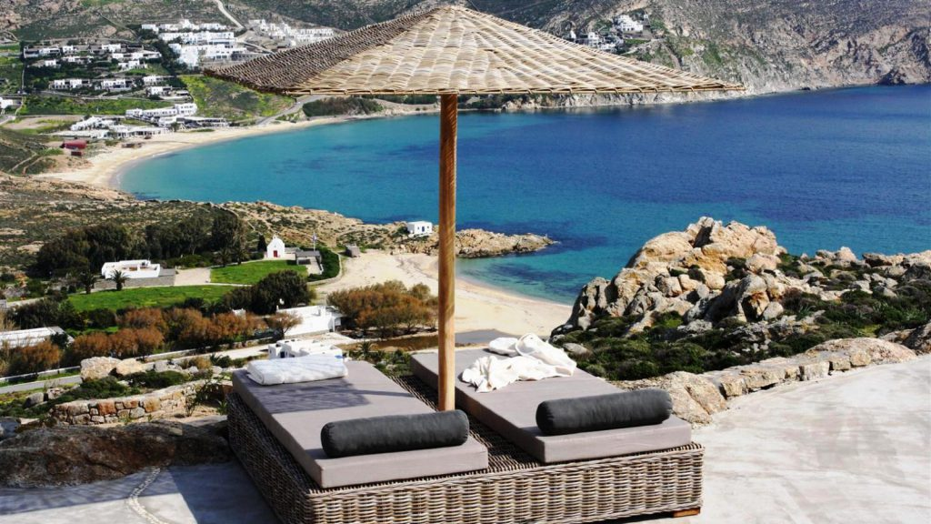Total Privacy, Comfort And Elegance With Great Panoramic Views, Where Private Path Leads In 5 Minutes Directly To The Beach Mykonos