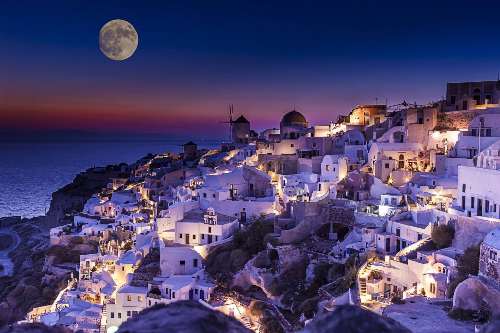 This year the holidays in Greece!