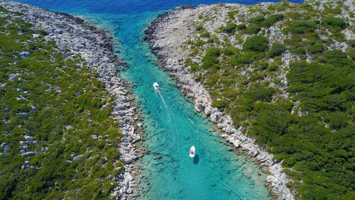 Paxos Contemporary Art Project is born. In Greece, public art on an unspoiled island