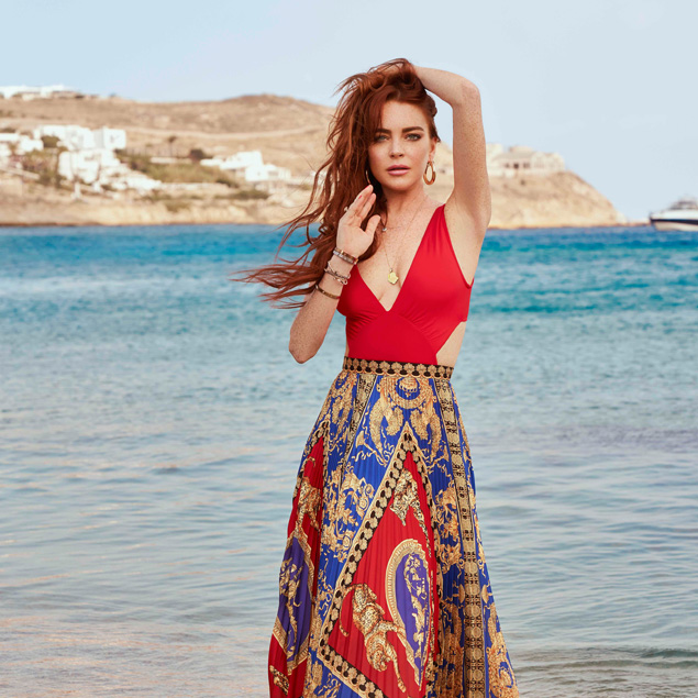Lindsay Lohan: the back to Mykonos with Mtv
